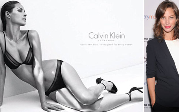 Christy Turlington: sexy für Calvin Klein