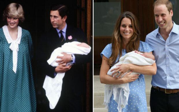 Kate: Pünktchenkleid wie einst Diana