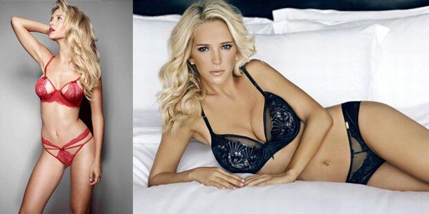 Schwangere Bublé-Frau als sexy Model