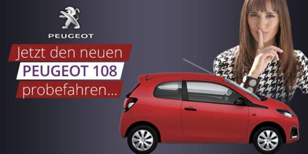 Der neue PEUGEOT 108