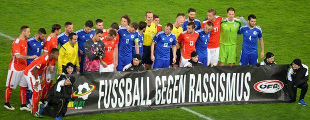 Fussball gegen Rassismus