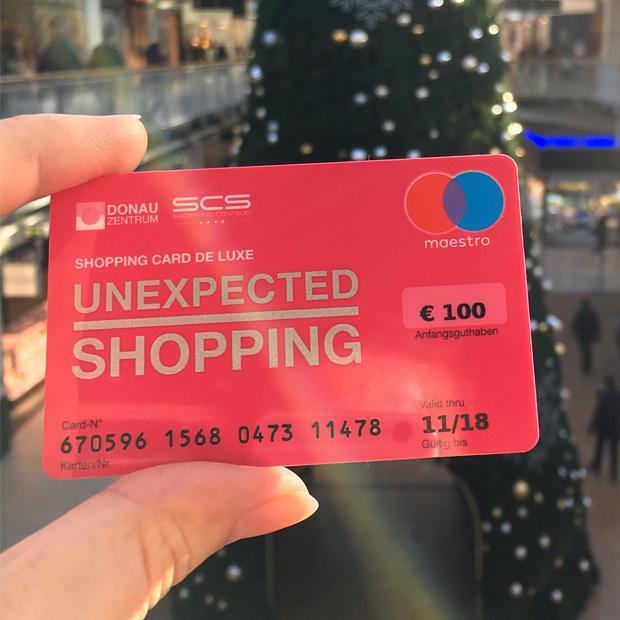Donauzentrum Shopping Card