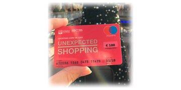 Pinke Shopping Card de Luxe gewinnen!