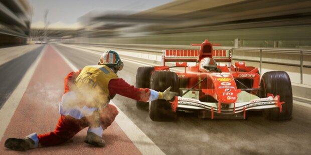 Verstappen gewinnt vor Vettel