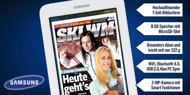 Samsung-Tablet gewinnen!