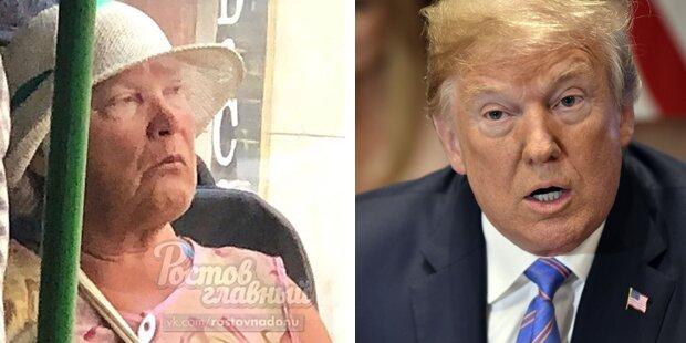 Hype im Netz: Diese Oma sieht aus wie Trump