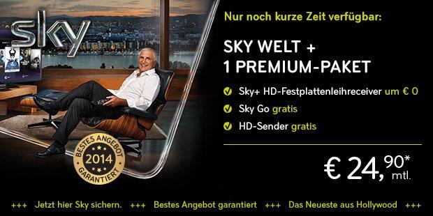 Anzeige Sky