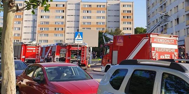 Brand Leebergstraße Wien-Favoriten