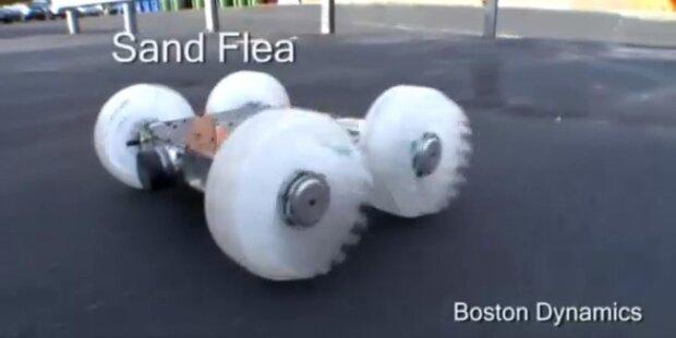 Tüftler entwickeln Mini-Sprungroboter