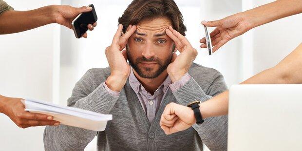 Stress reduzieren in nur einer Minute
