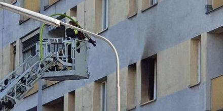 Feuer-Drama in Wien fordert einen Toten & viele Verletzte
