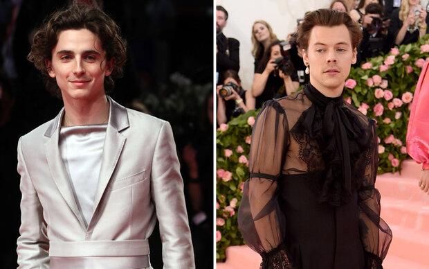 Trend: Männer tragen jetzt Damenblusen