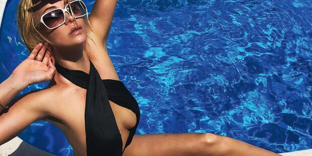 Heiße Fotos: Sarkissovas sexy Insta-Sommer