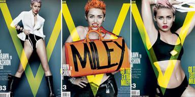 Zeigt Miley Cyrus zu viel nackte Haut?