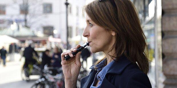 E-Zigaretten helfen beim Rauch-Stopp