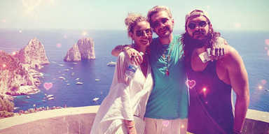 Heidi Klum Tom Kaulitz Bill Kaulitz