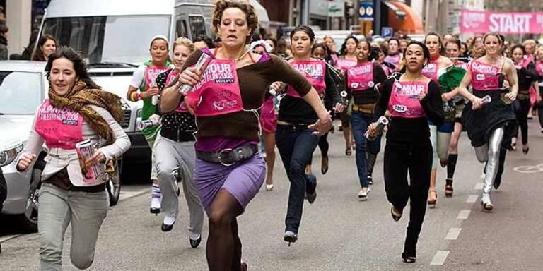 Stiletto Run-High Heels als Laufschuh