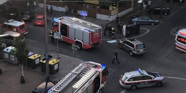 Unfall in Wien