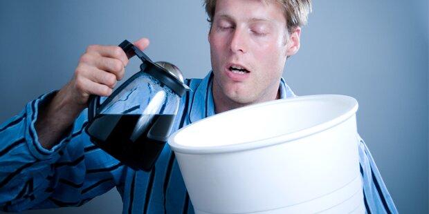 5 Anzeichen, dass Sie zu viel Kaffee trinken