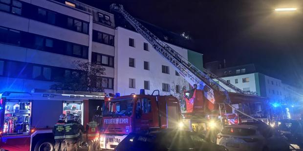 Dachgeschosswohnung Brand Simmering