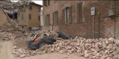 Schweres Erdbeben in Norditalien: 6 Tote