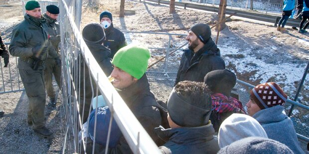 Pro Tag nur mehr 80 Asyl-Anträge