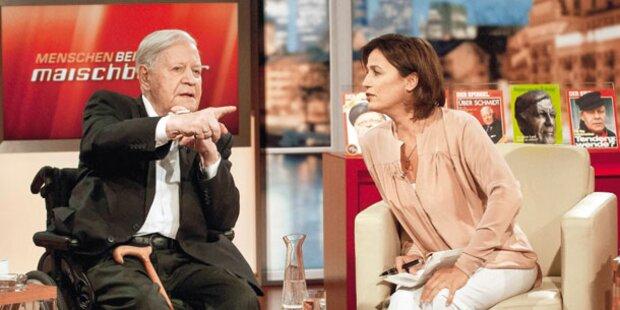Ex-Kanzler Schmidt über seine neue Liebe
