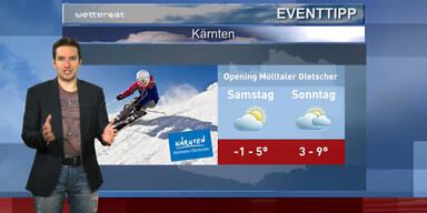 Der Eventtipp: Opening Mölltaler Gletscher