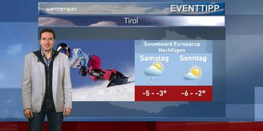 Der Eventtipp: FIS Snowboard Europacup