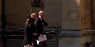 Harry & William: Versöhnung bei Begräbnis