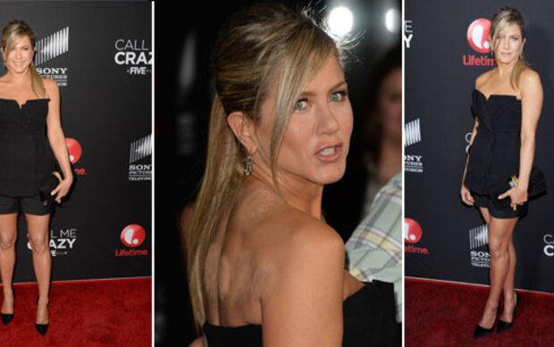 Jennifer Aniston zeigt unschönen Rücken
