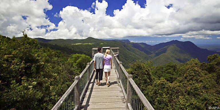 70 Meter langer Skywalk über Dorringo Nationalpark