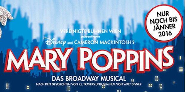 MARY POPPINS – das Disney-Musical über das wohl bekannteste Kindermädchen der Welt