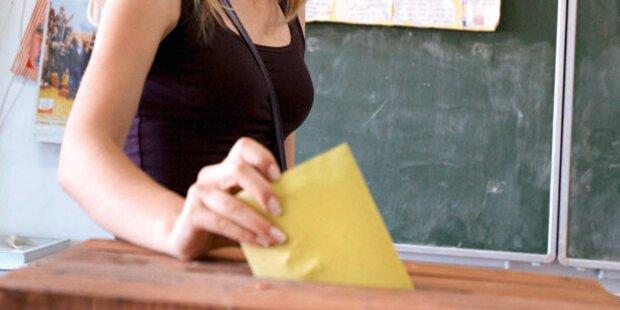 Finale bei Uni-Wahlen