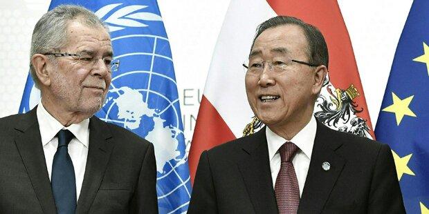 Van der Bellen traf Ban Ki-moon
