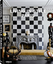 Living Style Paris Buch Wohntrends