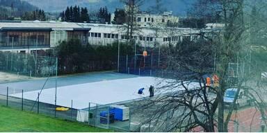 Eislaufplatz eröffnet heute