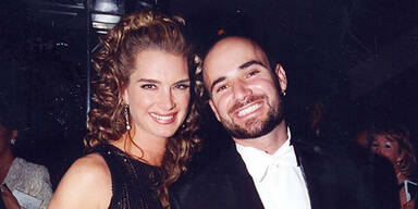 Brooke Shields & Andre Agassi