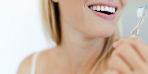 Zähneputzen vor oder nach dem Essen?