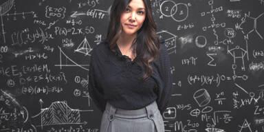 Smarte Frau