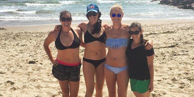 Lindsey Vonn zeigt Bikini-Body