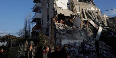 Erdbeben Albanien