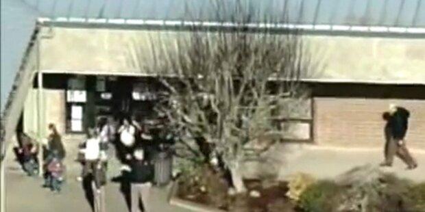 8-Jährige in Schule mit Pistole angeschossen