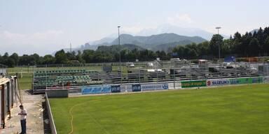 Grödig Fußballplatz