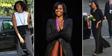 Michelle Obama: Stilsicher in Europa