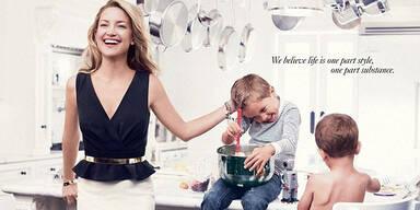 Kate Hudson posiert für Ann Taylor