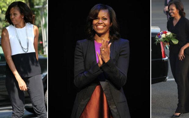 Michelle Obamas modischer Europa-Trip