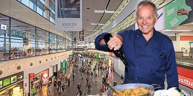 """""""Hollywoodkoch"""" Puck landet am Flughafen Wien"""