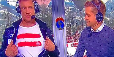 Netz feiert Assingers T-Shirt-Jubel