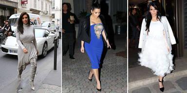 Kim noch weit entfernt vom  Mode-Olymp!